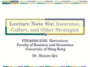 Derivatives_6_Option Strategies