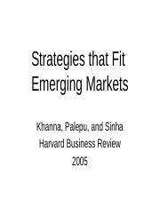 Strategies that fit emerging markets.pptx