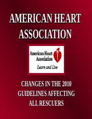 AHA 2010 guidelines power point.ppt