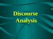Test 3- Discourse Analysis and Neuroling Powerpoint