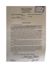 Warrant of Arrest against Trillanes by Davao Court for Libel.docx