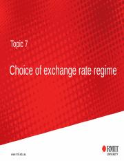 T7 Choice of Exchange Rate.pptx