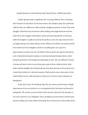 sonia shuka two kinds essay sonia shuka two kinds by amy tan  11 pages sonia shuka final essay comp lit 121