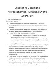 ECON 101 - Chapter 7 - Review Notes.docx