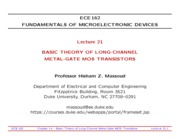 ECE162-Lecture-21-Long-Channel-MOS-Transistors