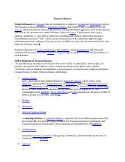 Tropical diseases.docx