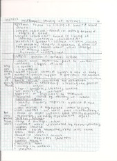 study of tissues notes