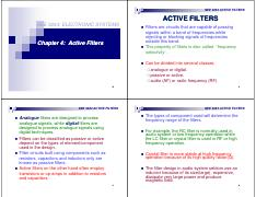Chapter 4 ACTIVE_FILTERS [Compatibility Mode]