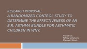 Asthma Research PPT