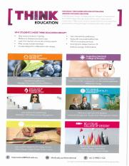 Think Education Group - Brochure