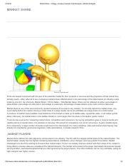 Market Share - strategy, company, business, Market players, Market strategies.pdf
