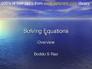 Solving_Equations(Prepared_by_Boddu_S_Rao)Opp