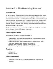 ACC2201 Lesson 2 The Recording Process AODA.docx