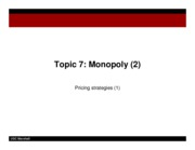 rlecture17 - monopoly pricing