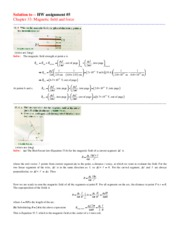 Solution to UniPhysics_II_HW #5