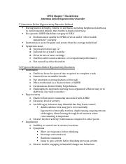 SPED Chapter 7 Book Notes ADHD