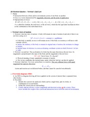 Notes_Newton2ndlaw