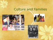 Culture and family