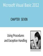 VB Chapter Seven PowerPoint.pptx