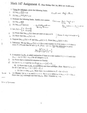 Math147Assignment4Solutions