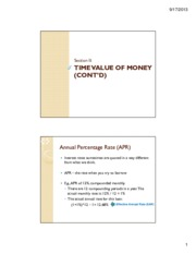 Lecture 2 - Time Value of Money Part 3