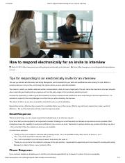 How to respond electronically for an invite to interview.pdf