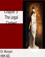 Chapter 3 Discussion - Legal Context.ppt