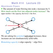 Lecture 23 on Linear Programming