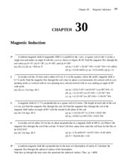 Chapter 30 Homework Solution on University Physics II
