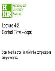 lecture4-2 loops