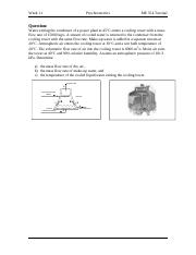Tutorial(10)_Psychrometrics_Solutions