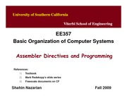 Unit6-CFDirectives-EE357-Nazarian-Fall09