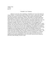 Unit: Teaching Schindler's List | Facing History
