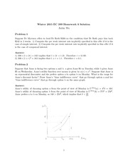Winter 2015 EC 399 Homework 6_Solution