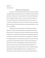 phil 1 second response paper