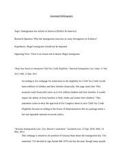 Annotated bibliography (2pages)