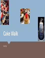 Cake Walk Bakery