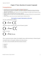 Chapter-17-aromatic reactions