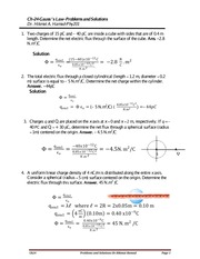 Ch24-Solved Problems - Fall 2014 -2015