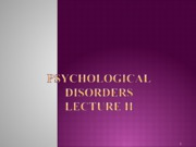 Ray Psych 10 Lecture 4