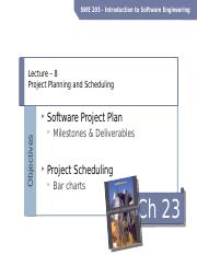 8-Lecture-Project Planning and Scheduling.pptx