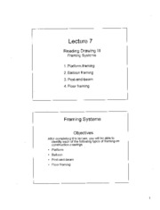 Lecture 7 - Framming Reading Drawing 3
