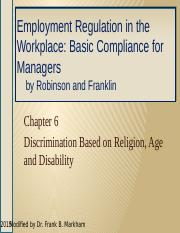 Employee Relations, Ch 06 Religion, Age, Disability, 2ed HO (3)