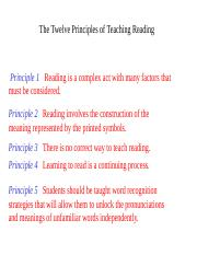 twelve_principles_of_teaching_reading.ppt