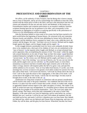 211 _2 PREEXISTENCE AND FOREORDINATION OF THE CHRIST