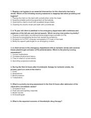 Exam II Practice Questions - NursesLabs