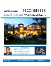 International Buyers Guide to US Real Estate
