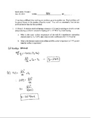 exam 2 solutions