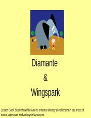 Diamante and Wingspark.pptx