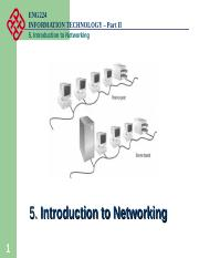 5 Intro to Networking